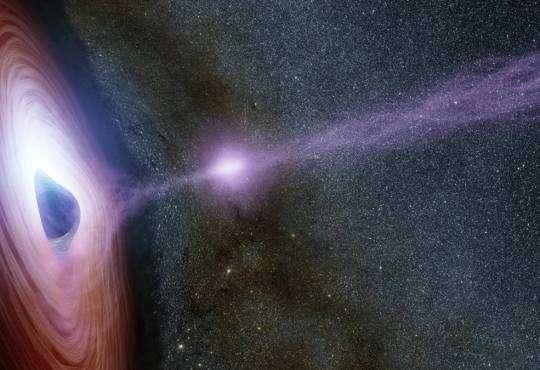 Життя Астрономи відкрили найдавнішу надмасивну чорну діру італія космос новина