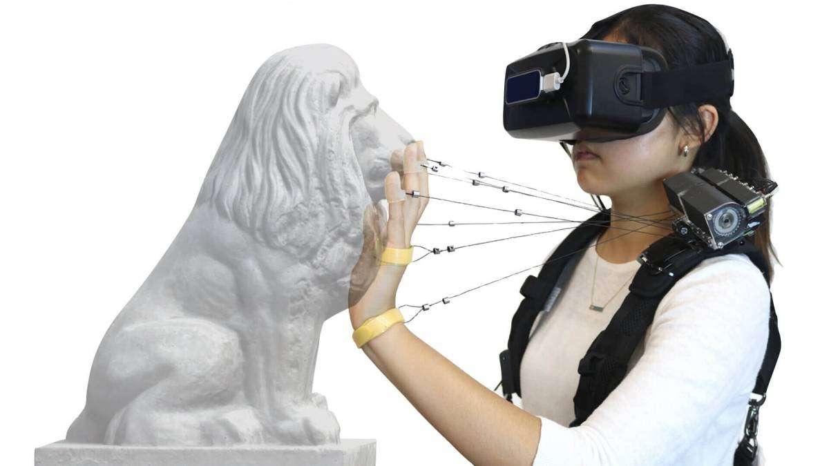 Створено пристрій, що дозволить відчувати дотик у віртуальній реальності