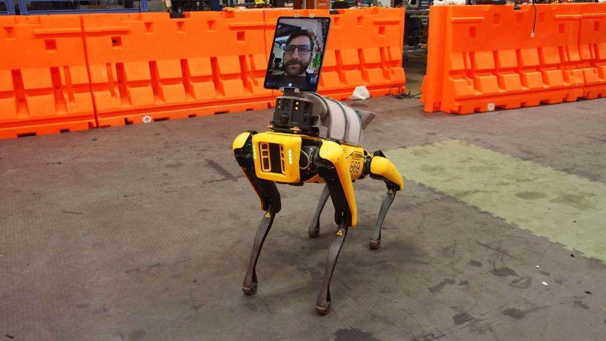 Як робот Boston Dynamics допомагає лікувати хворих на Covid-19