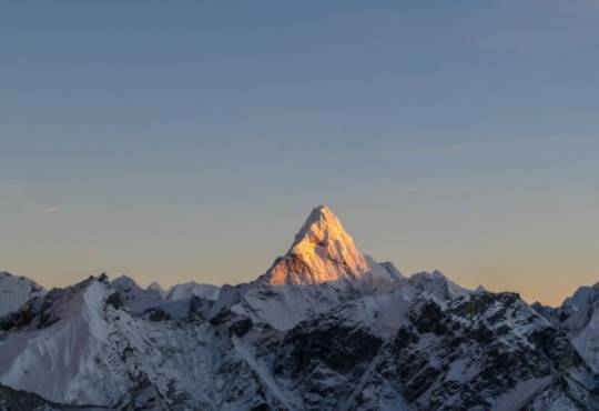 Життя Китайські вчені заново виміряли Еверест кнр новина у світі