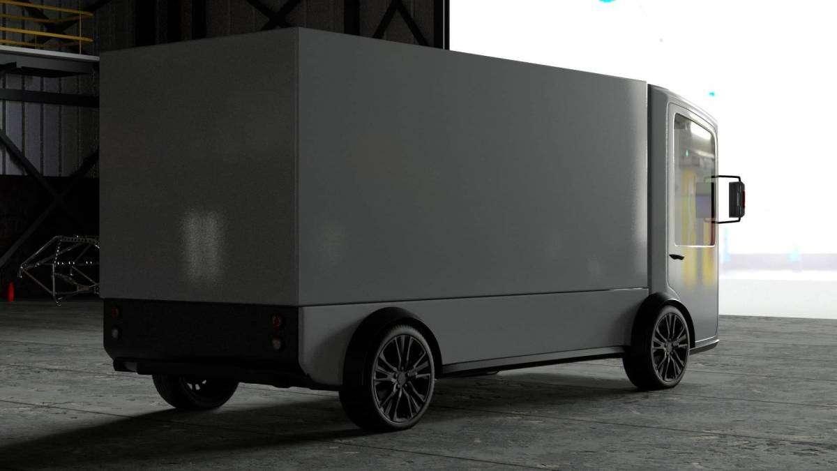 електровантажівка CoolOn