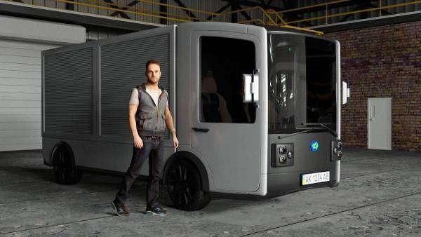 Як виглядатиме нова українська електровантажівка CoolOn
