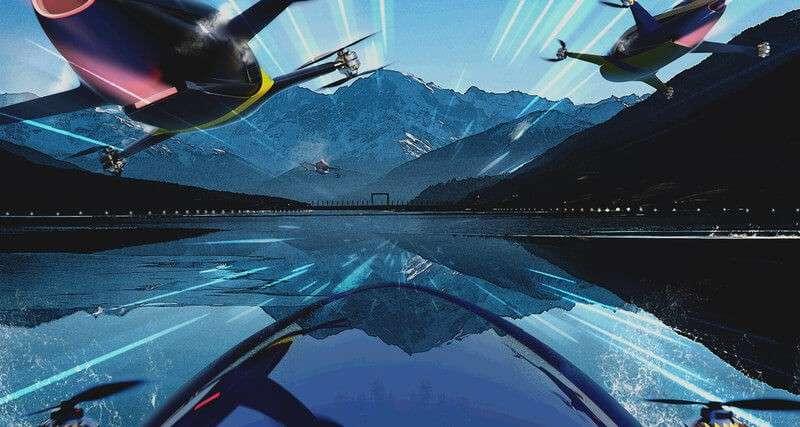2020 року пройдуть перші перегони летючих автомобілів