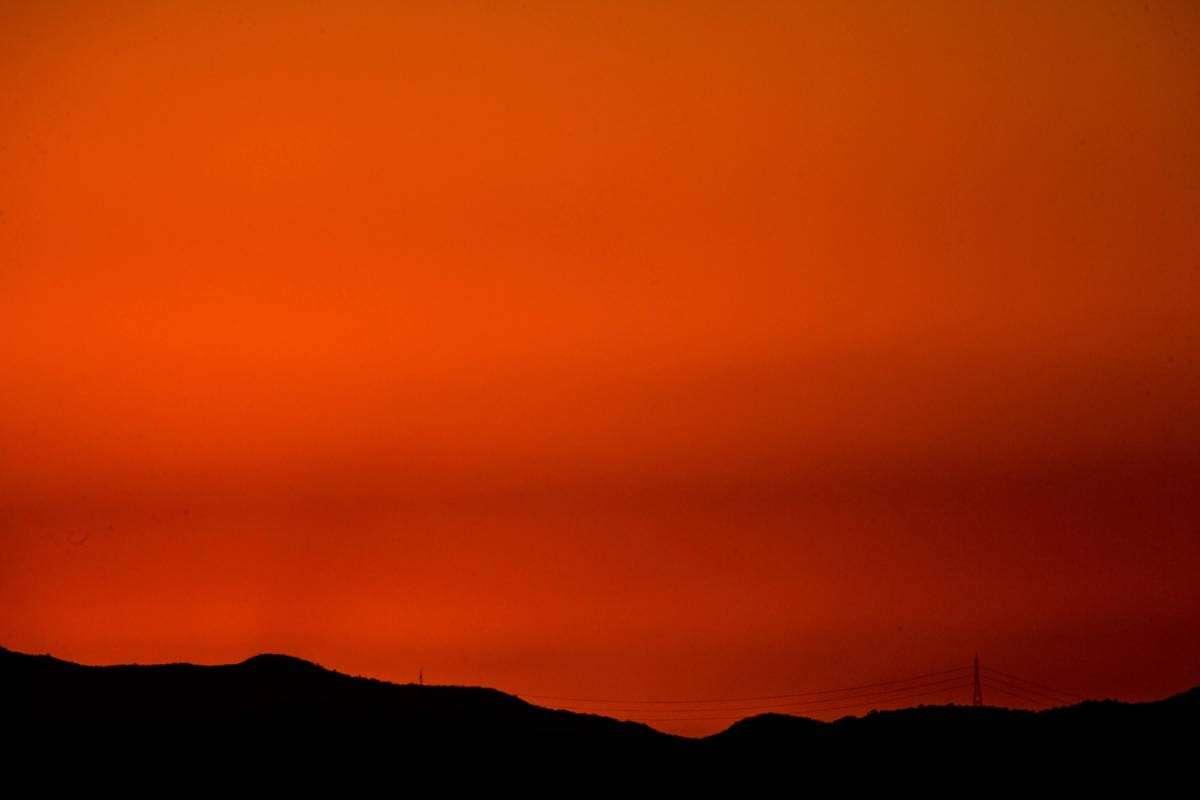Який на вигляд захід Сонця на інших планетах