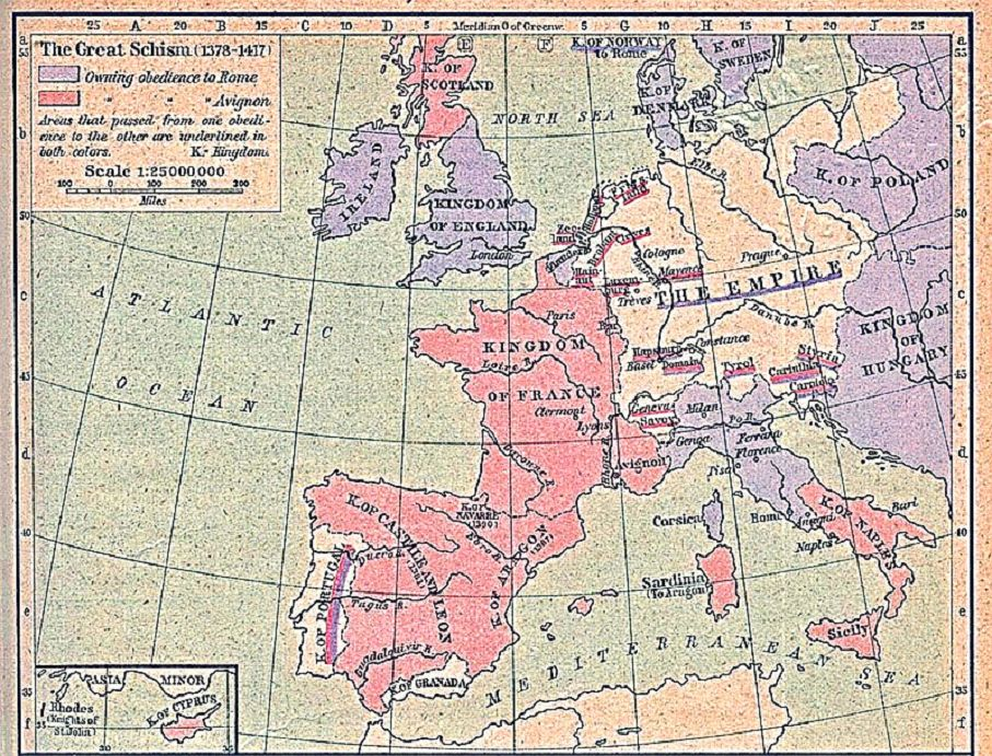 Європа у 1378-1417 роках