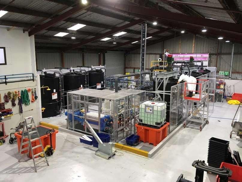 Перший завод Mint Innovation в Окленді, Нова Зеландія
