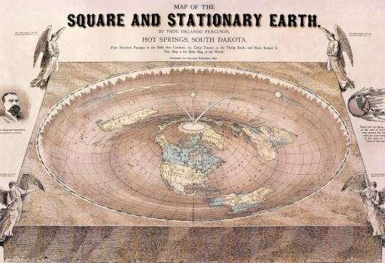 Життя Чому дехто вважає, що Земля пласка? nasa земля міфи наука стаття