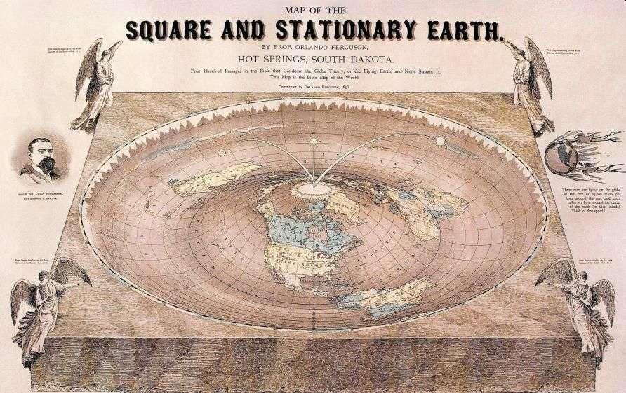 Чому дехто вважає, що Земля пласка?