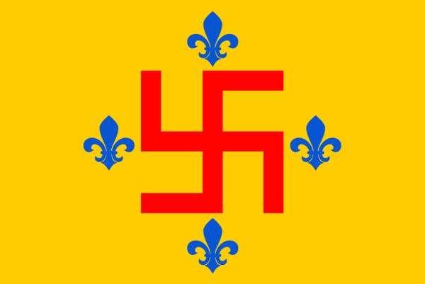"""Прапор """"Ордену нових тамплієрів"""""""