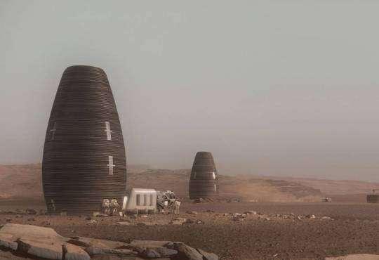 Життя Яким буде житло на Марсі nasaкосмосмарсстаття