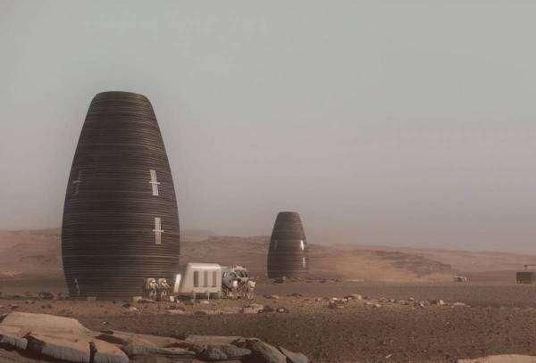 Яким буде житло на Марсі