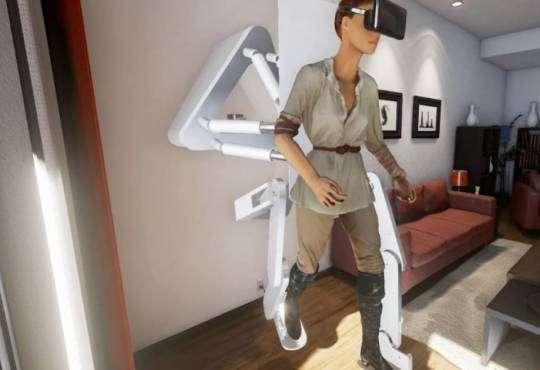 Технології Дослідники розробили екзоскелет для віртуальної реальності екзоскелет стаття технології