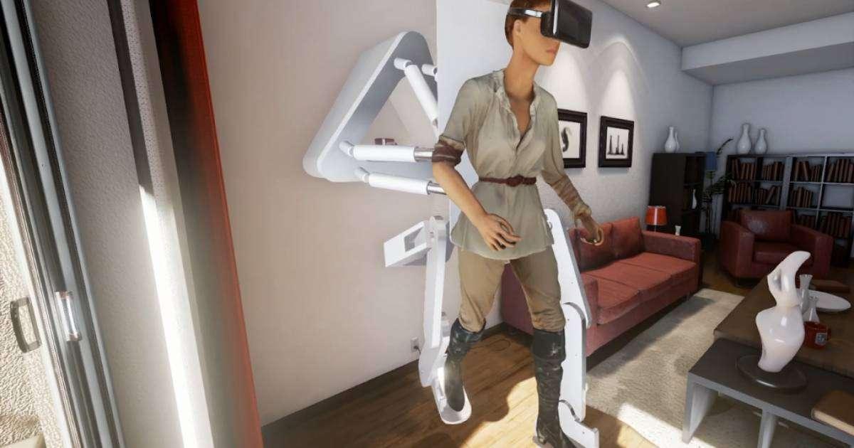 Дослідники розробили екзоскелет для віртуальної реальності