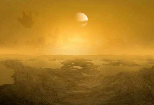 Життя У кратерах на Титані могло б зародитися життя космос наука стаття