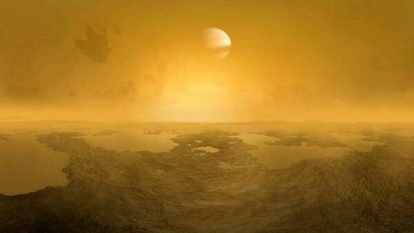 У кратерах на Титані могло б зародитися життя