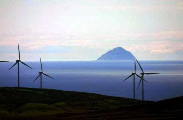 97% електроенергії Шотландія отримала з відновлювальних джерел