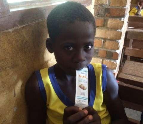 В рамках ініціативи Nourishing Minds компанія Hershey's також надавала допомогу 50 тисячам дітей у африканській Гані.