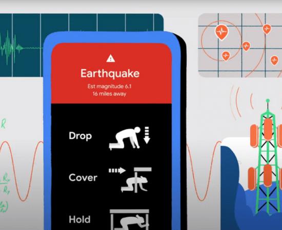 Технології Смартфони зможуть попереджати про землетруси google новина смартфони у світі