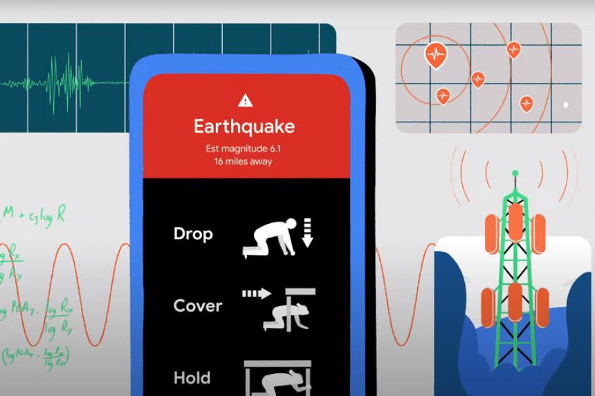 Смартфони зможуть попереджати про землетруси