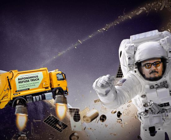 Технології Супутники-убивці та космічне сміття 🚀 Як сильно ми засмітили орбіту Землі? embed-video безпека відео космос сміття