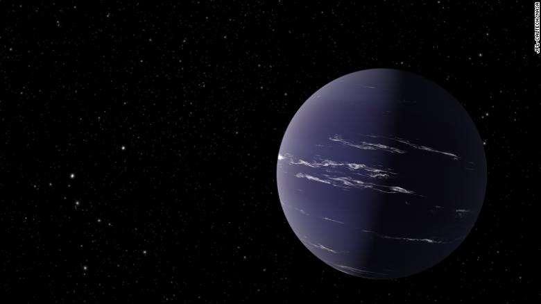 Художня ілюстрація планети TOI-1231b