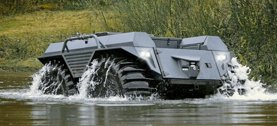 Новий німецький всюдихід наближає війну роботів-вбивць