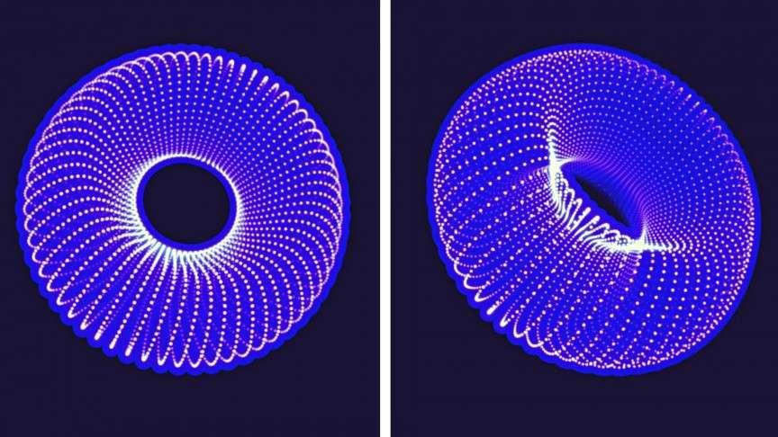 Чому теорія про Всесвіт-пончик набуває популярности?