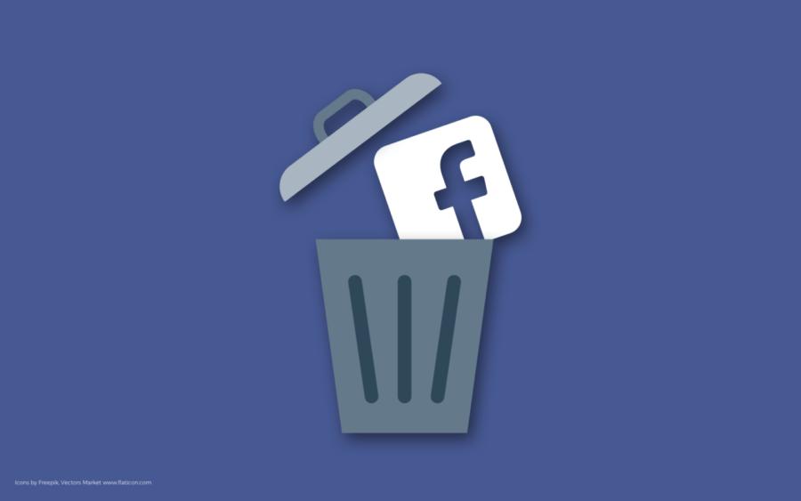 Як видалити Facebook